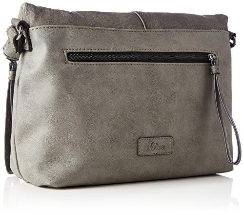 Grigio s City Bag Bags a Oliver Grey Donna Borse tracolla Middle 66Rqn8Ex