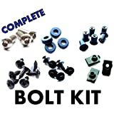 Suzuki SV650 03 04 05 06 07 08 09 Motorcycle Fairing Bolt Kit, Complete Screws and Fasteners kit SV 650 2003 2004 2005 2006 2007 2008 2009