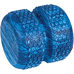 Power Systems Myo-Roller, Textured Roller Massage Therapy Aid for Recovery, Myofascial Release and Spinal Alignment, Blue Marble (80675)