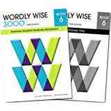 Wordly Wise 3000 Grade 6 SET -- Student and Answer Key (Systematic Academic Vocabulary Development)