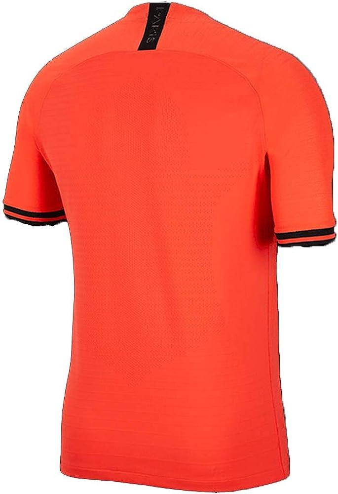 Nike PSG M Nk Vapor Mtch JSY SS AW Camiseta, Hombre, Infrared 23 ...