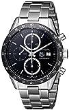 TAG Heuer Men's CV2010BA0794 Carrera Black Dial Watch