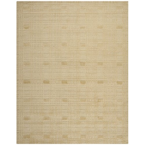 Safavieh Tibetan Collection TB120A Hand-Knotted Sand Wool Area Rug (9' x 12') ()