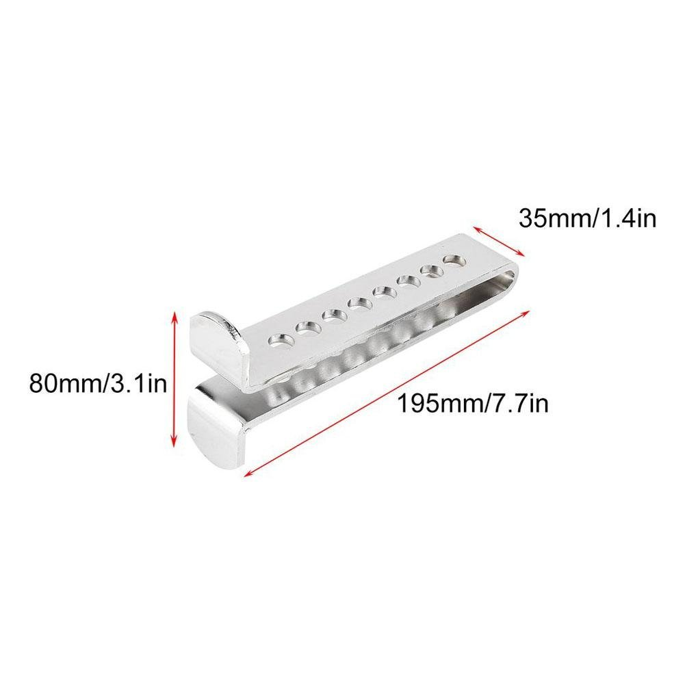 Amazon.com: Lamptti Clutch Stainless Anti-Theft 8 Holes Lock for car, Pedal Lock Anti-Theft for auto: Automotive
