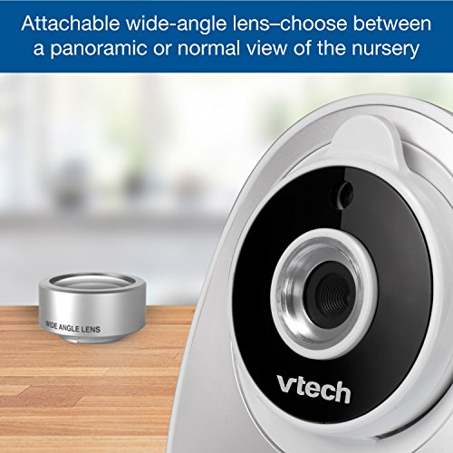 a126b59358d75 Amazon.com   VTech VM342-2 Video Baby Monitor with 170-Degree Wide-Angle  Lens for Panoramic View