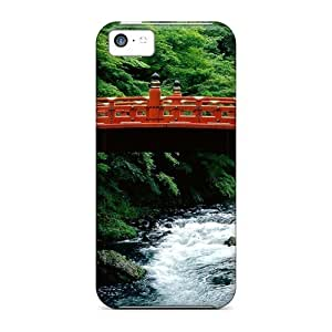 Boast Diy Awesome Design The Sacred Bridge Of Futarasan Shrine case cover For Iphone 5c OgkECsSnyxr