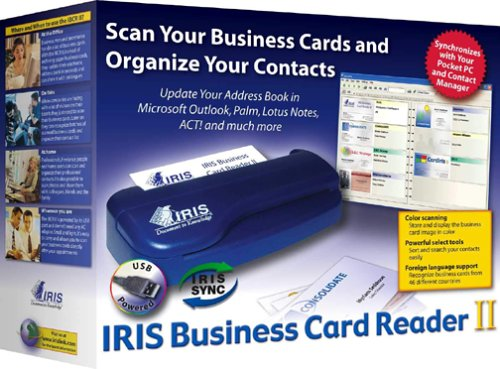 IRIS Business Card Reader II for Windows/PC