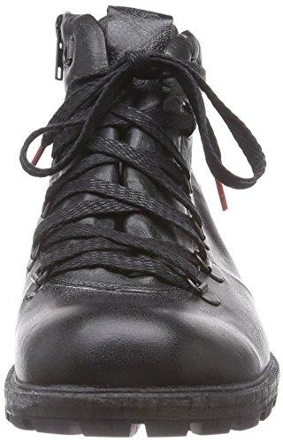 Think! HAWARA Boot - botas de cuero hombre negro - negro (SZ/KOMBI 09)