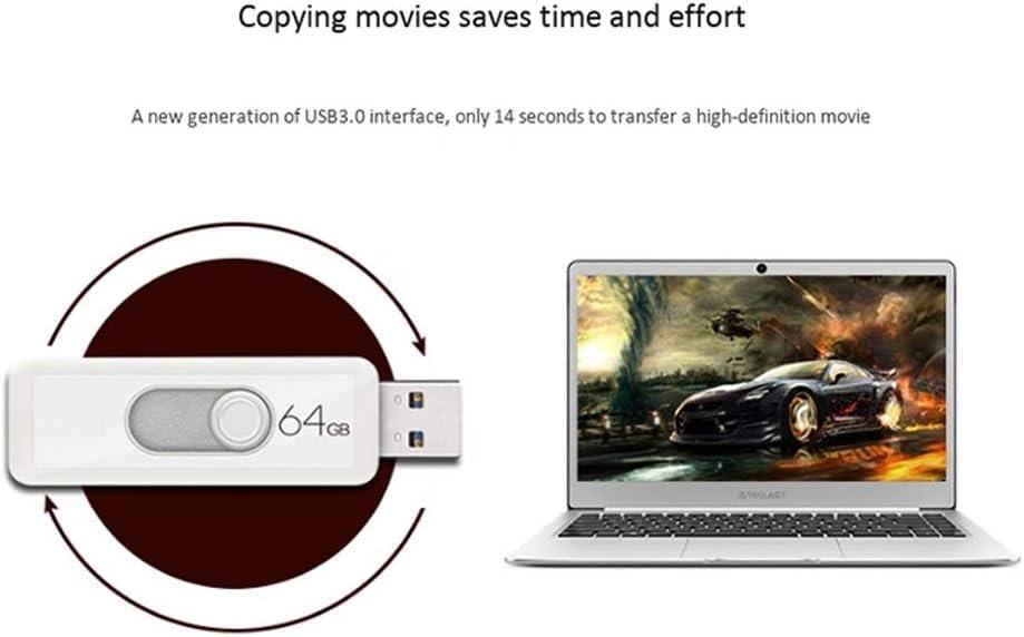 Light and Portable 10-11 Flash Drive 64G Plastic White Read: 45-120MB//s Color : F Computers Accessories USB 3.0 Mini