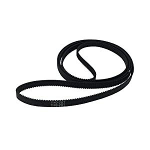 BEMONOC Pack of 2pcs 2GT Driver Belt 1140-2GT-6 Timing Belt in Closed Loop Rubber L=1140mm W=6mm 570 Teeth