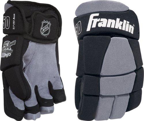 Franklin Sports NHL Street Hockey Gloves 150 Junior Medium (Junior Leather Hockey Gloves)
