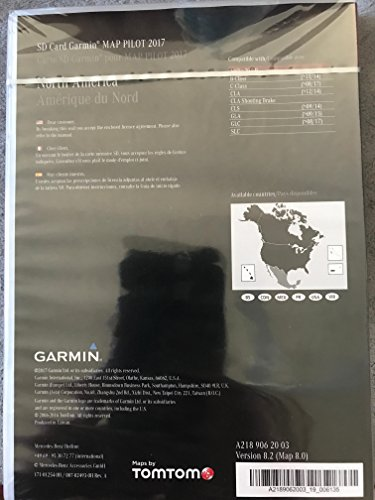 2018 Mercedes-Benz Garmin MAP PILOT Navigation GPS SD Card v8.2 A2189062003 C300 GLC GLA CLS (Difference Between Sim Card And Sd Card)