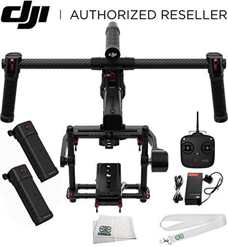 Price comparison product image DJI Ronin-MX 3-Axis Gimbal Stabilizer Bundle. Includes Manufacturer Accessories + SSE Transmitter Lanyard + Microfiber Cleaning Cloth