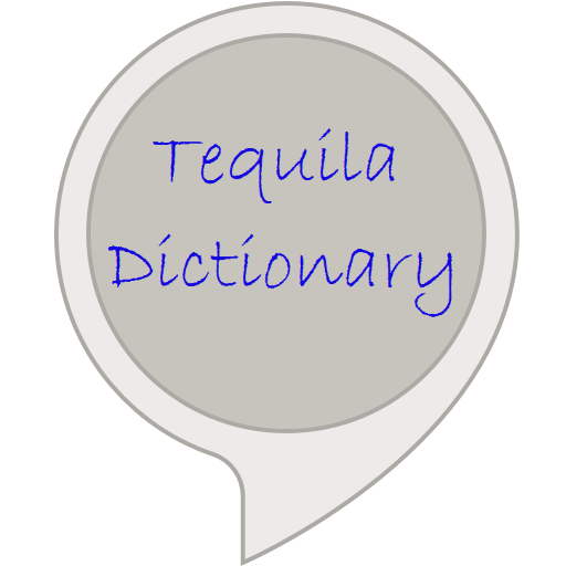 Tequila Dictionary (Mezcal Reposado)