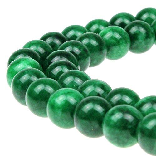 Green Jasper Bracelet (JARTC AAA Dry Green Jasper Round Loose Beads 15