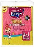 Parex Trend Cleaning Cloth 38X30Cm - 3 Count, Multi Color