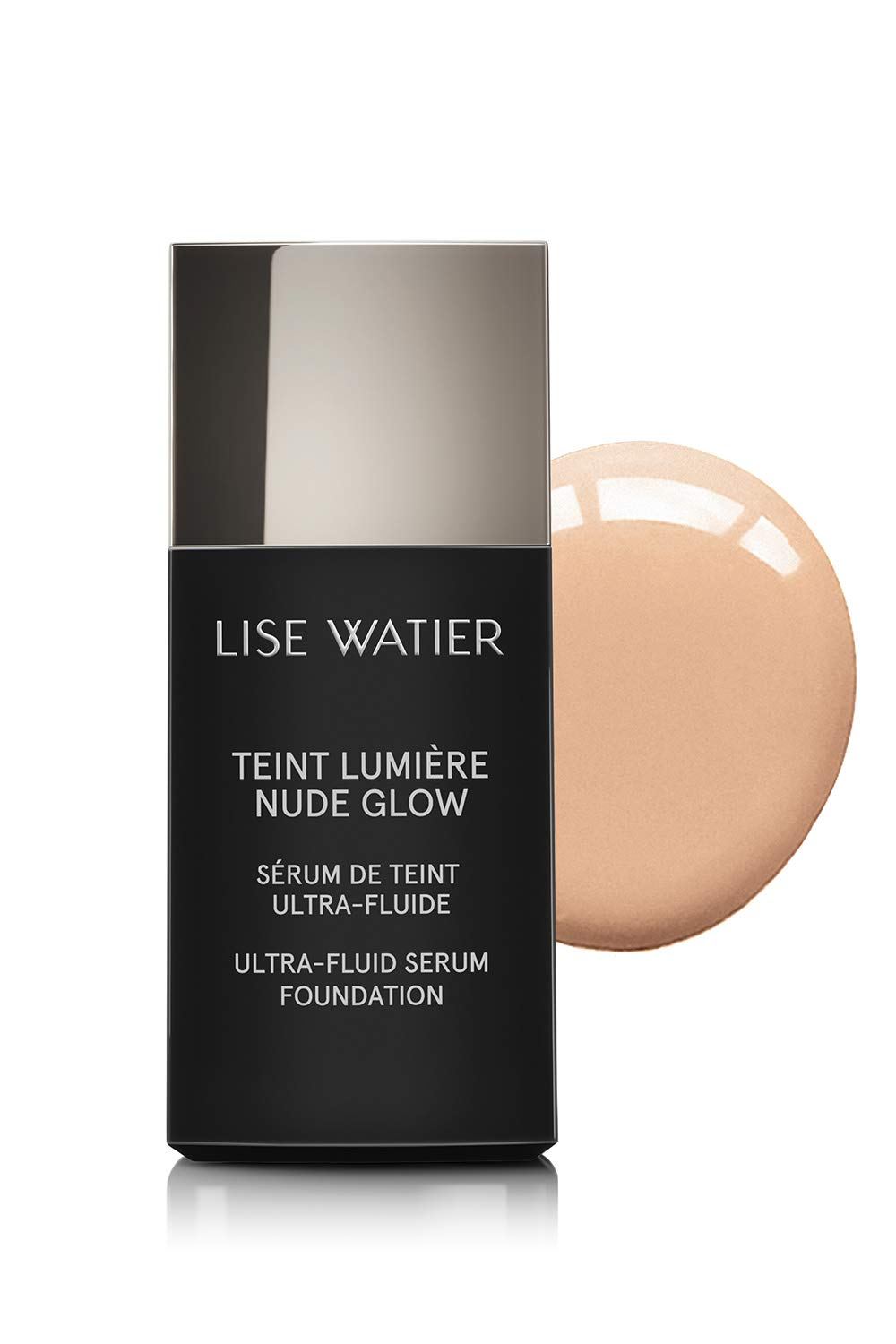 Amazon.com: Lise Watier Teint Lumière Nude Glow Ultra-Fluid Serum Foundation, Beige Nu, 0.94 fl oz: Beauty
