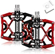 SGODD Mountain Bike Pedals Bicycle Pedal, Bike Pedal Bicycle Platform Flat Pedals Cycling Ultra Sealed Bearing