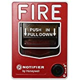 Notifier Nbg-12Lx Fire Alarm Addressable Pull Station Key Lock