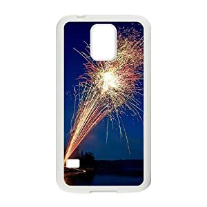 Fireworks ZLB592922 Personalized Case for SamSung Galaxy S5 I9600, SamSung Galaxy S5 I9600 Case