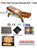 Massage Table FAR Infrared 5 Heated Jade Rollers - Heated Germanium Stones - Spinal Traction Therapy - Electric Tilt Bed