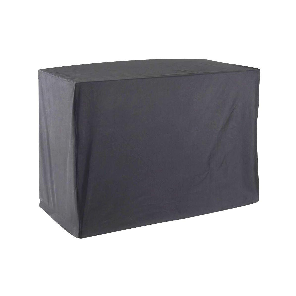 Funda protectora para plancha de carrito de alta calidad en poliéster, 120 x 60 x 90 cm, color gris antracita: Amazon.es: Jardín