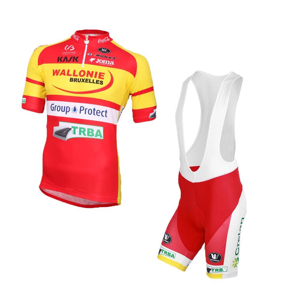 Wulibike Maillot Verano Ciclismo Hombre Traje Bicicleta ...