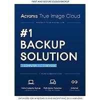 Acronis True Image Cloud 2016 1 PC & 3 Devices