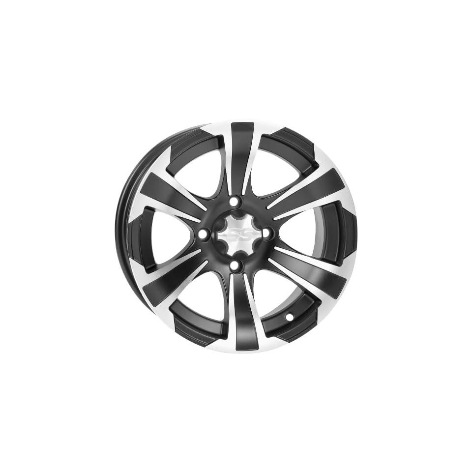 ITP SS312 Wheel 14x6 4+2 Offset 4/110 Matte Black/Machined Black