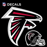 Stockdale Technologies Atlanta Falcons 12'' Logo Decal with Bonus Decal Flat Reusable Auto Home Football