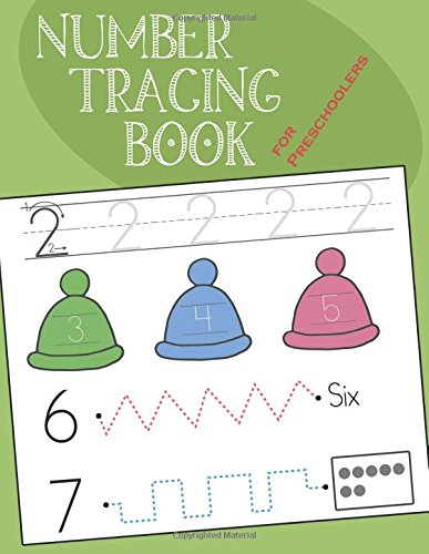 Number Tracing Book for Preschoolers: Workbook for Toddler and Kids Ages 3-5, 100+ Pages, Practice Handwriting Skill and Counting Number from 1 to 30 (Tracing Books Preschool)
