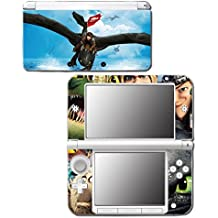 How to Train Your Dragon 2 Hiccup Toothless Astrid Video Game Vinyl Decal Skin Sticker Cover for Original Nintendo 3DS XL System