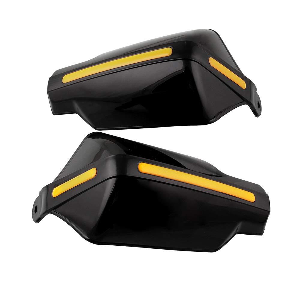 KKmoon 22mm 7//8 Paramanos,Guardamanos Handguard para Motocicleta ATV Protecci/ón contra el viento