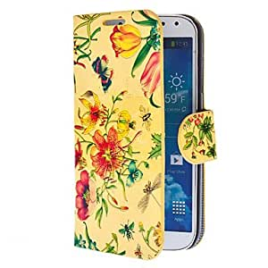 YULIN Samsung S4 I9500 compatible Special Design PU Leather Cases with Stand