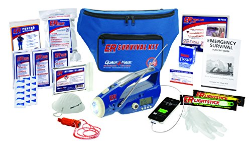 Deluxe Fanny Pack - ER Emergency Ready SK1DD 1-Person Deluxe Fanny Pack Survival Kit