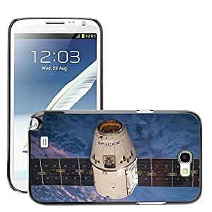 Print Motif Coque de protection Case Cover // M00292076 Órbita de los satélites SpaceX // Samsung Galaxy Note 2 II N7100