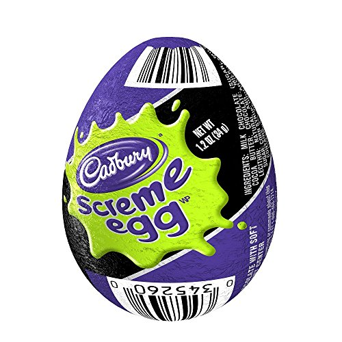 CADBURY Chocolate Candy Screme Egg (Pack of 48) -