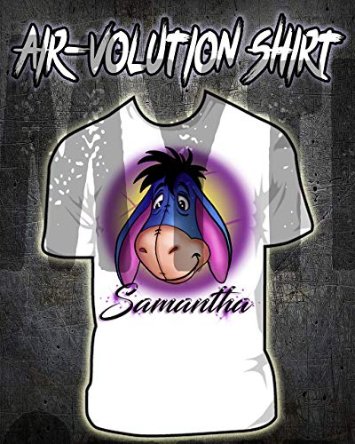 Personalized Airbrush Eeyore Shirt