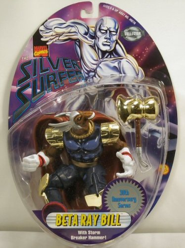 Silver Surfer Figure Beta Ray Bill ToyBiz 49274