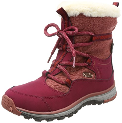 Image of the KEEN Women's Terradora Apres WP-w Hiking Boot, Rhododendron/Marsala, 9.5 M US