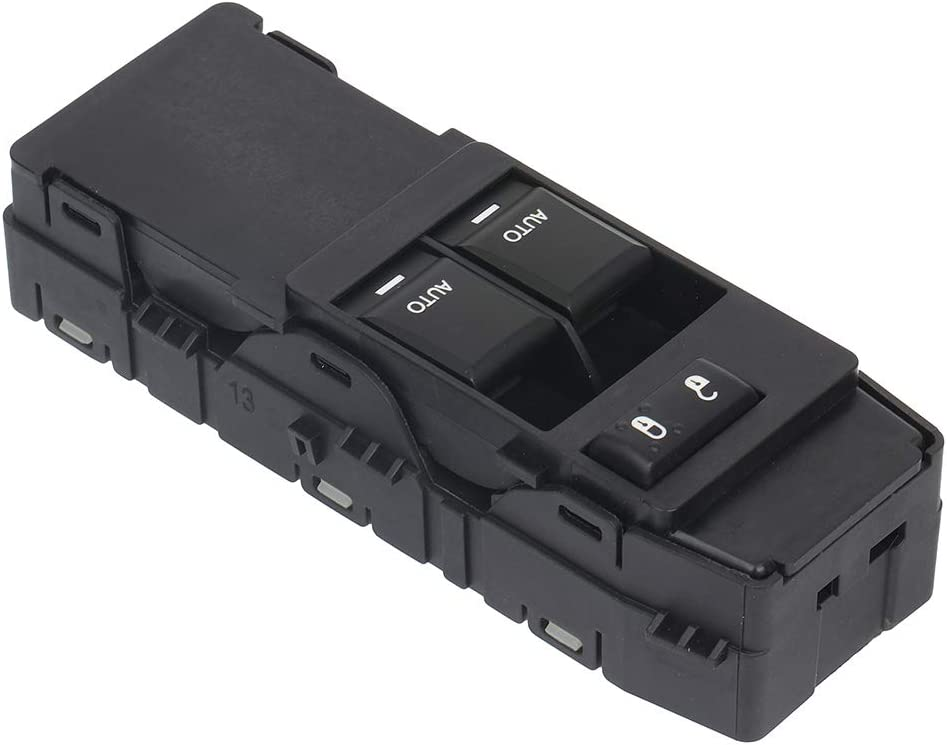 LSAILON Power Window Switch Driver Side Power Window Master Control Switch Fits for 2008-2010 Dodge Challenger 04602784AC