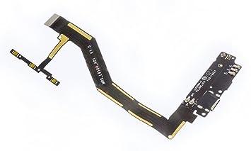 Tcset 599371031 - Flex Conector Carga+MICR\u00e7ufono+pulsadores bq aquaris m5