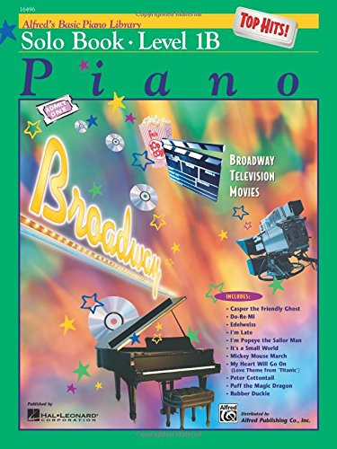 (Alfred's Basic Piano Library: Top Hits Solo Book, Level 1B)