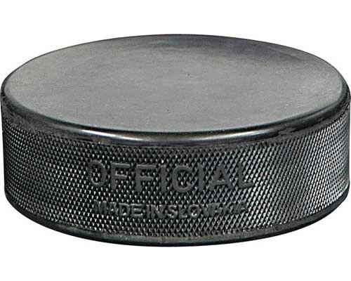 Inglasco Bulk Regulation Practice Puck 6 oz - Black - 100 per case by Inglasco