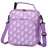 Lunch Boxes Bag for Girls,VASCHY Reusable Lunch Box Containers for Boys and Girls