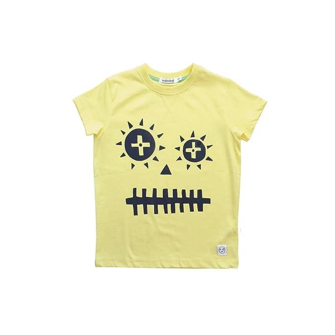 Camiseta Manga Corta Vinnie Indikidual (Algodón Orgánico) (3-4 años)