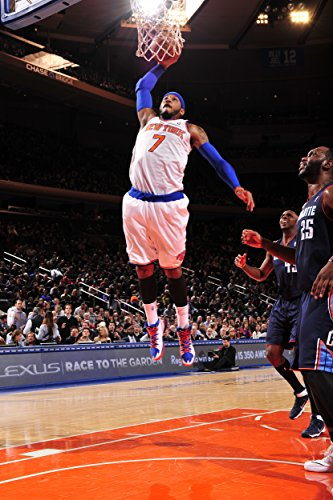 Carmelo Anthony Slam Dunk New York Knicks Basketball Poster Art Print 21