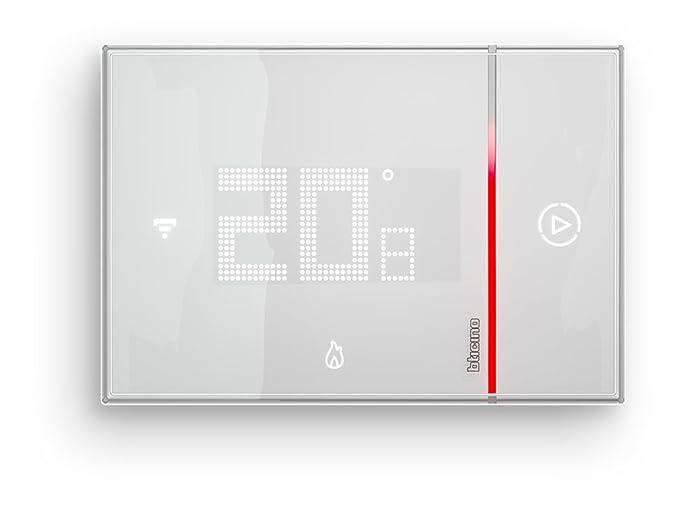 BTicino - Smarther SX8000 Termostato Conectado con WiFi integrada - De Pared, encastrable: Amazon.es: Bricolaje y herramientas