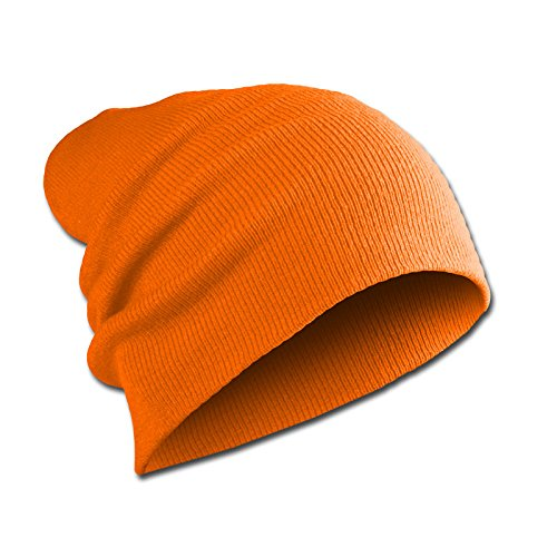 Beanie orange Mente agresiva Mujeres Long Slouch Unisex Long Hombres Jersey wzOx7z