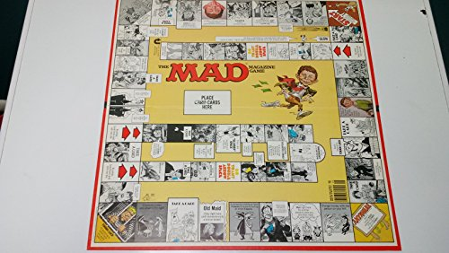 Buy Parker Brothers Mad Magazine Board Game Multicolour Online At Low Prices In India Amazon In